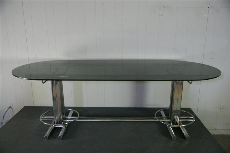 Italian Chrome Table