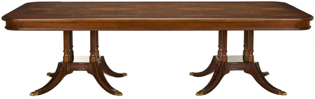 Fruitwood Fixed Dining Table