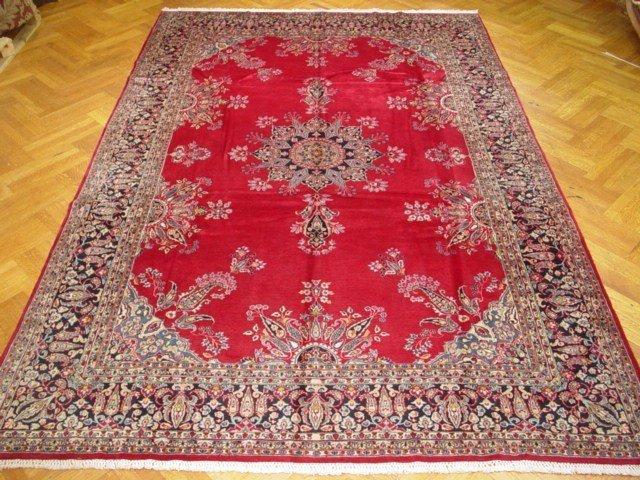 Fine Quality 13'X9' Persian Kerman Rug Excellent