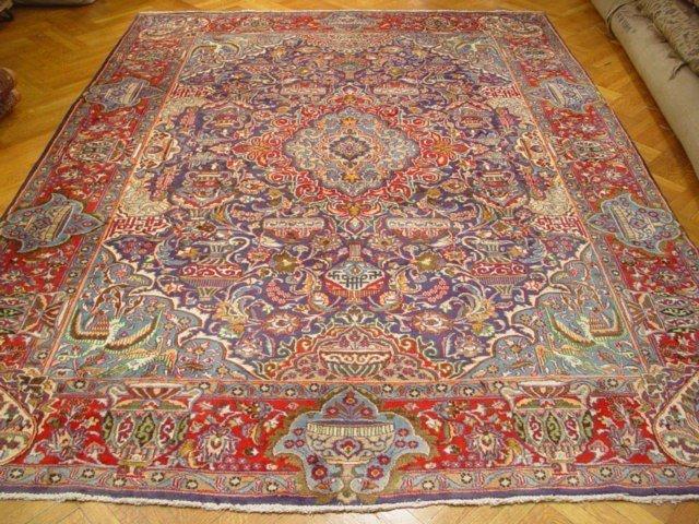 Semi Antique Archelogy Design 13'X9'  Persian Carpet