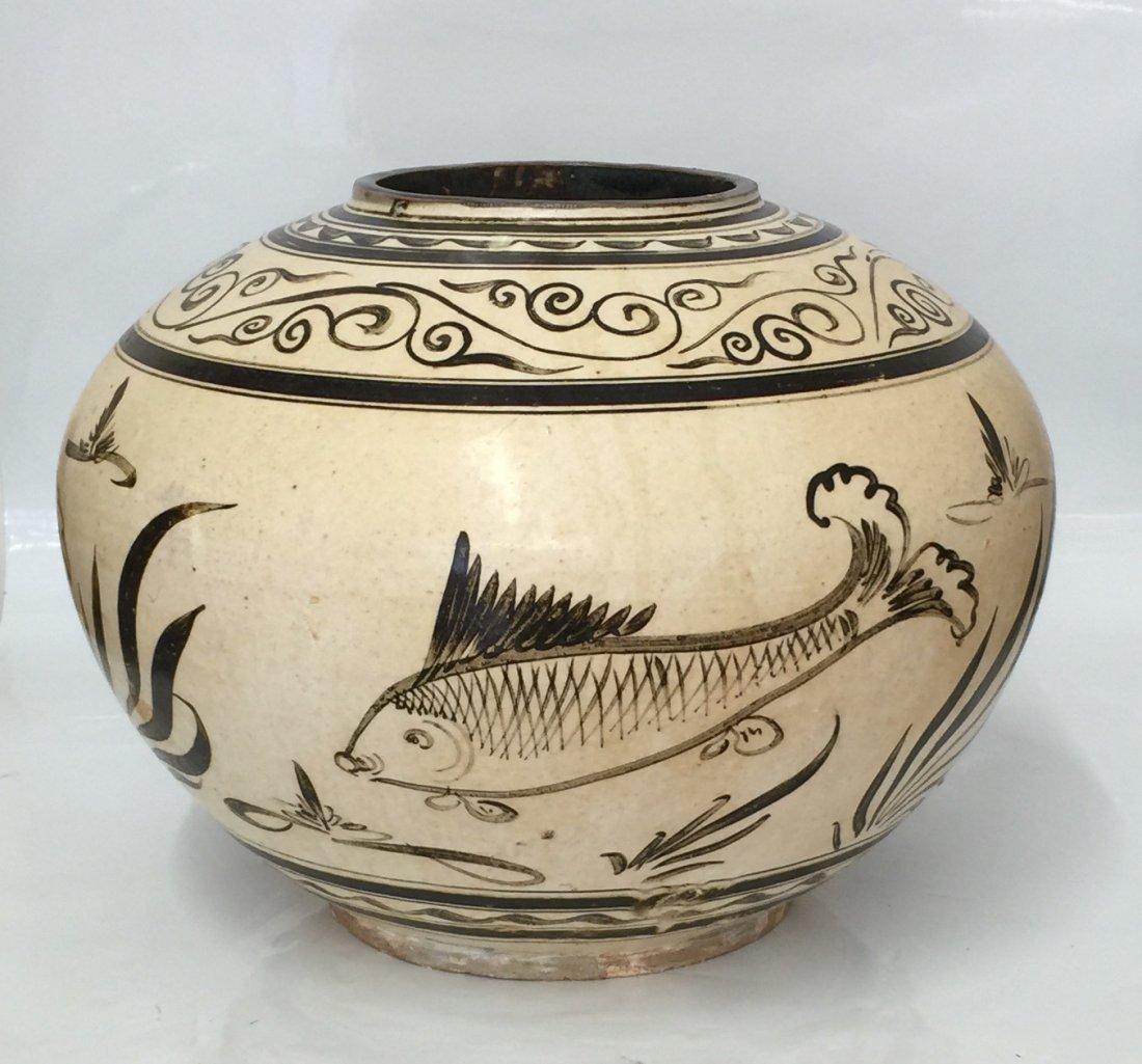 Cizhouyao jar. Yuan thru Ming Period.