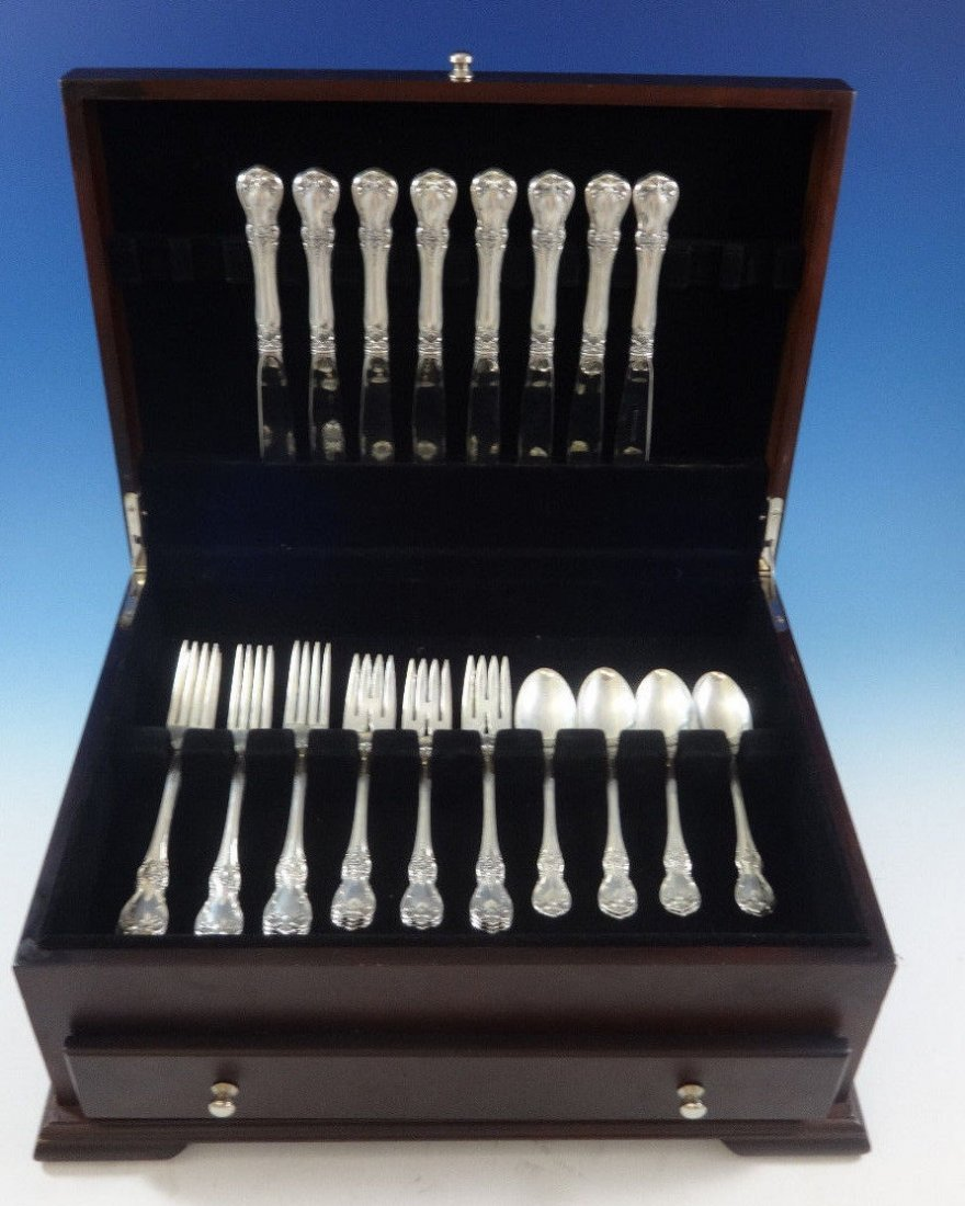"Towle Sterling 32pc flatware set ""Old Master"""