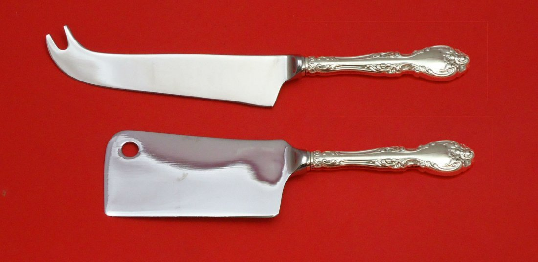 Gorham Melrose sterling 2pc cheese set
