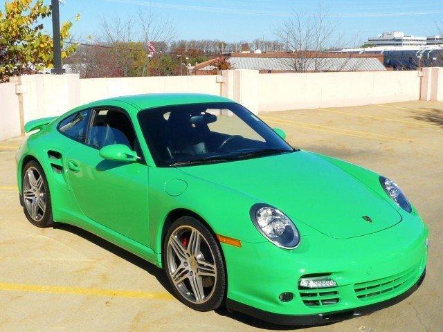 2009 Porsche 911 Turbo Coupe
