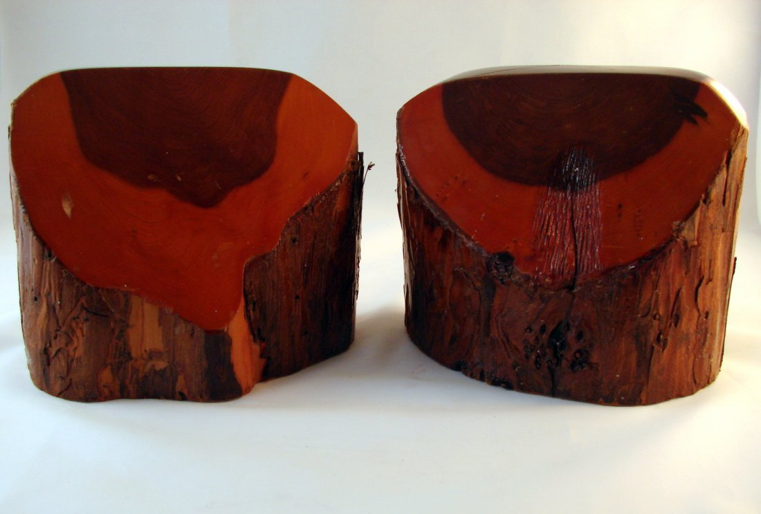 Redwood Bookends