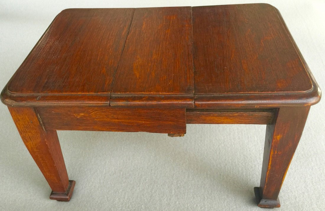Antique Toy or Salesman's Sample Dining Table