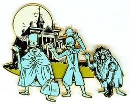 Disney Cast Haunted Mansion Hitchhiking Ghosts Pin/Pins