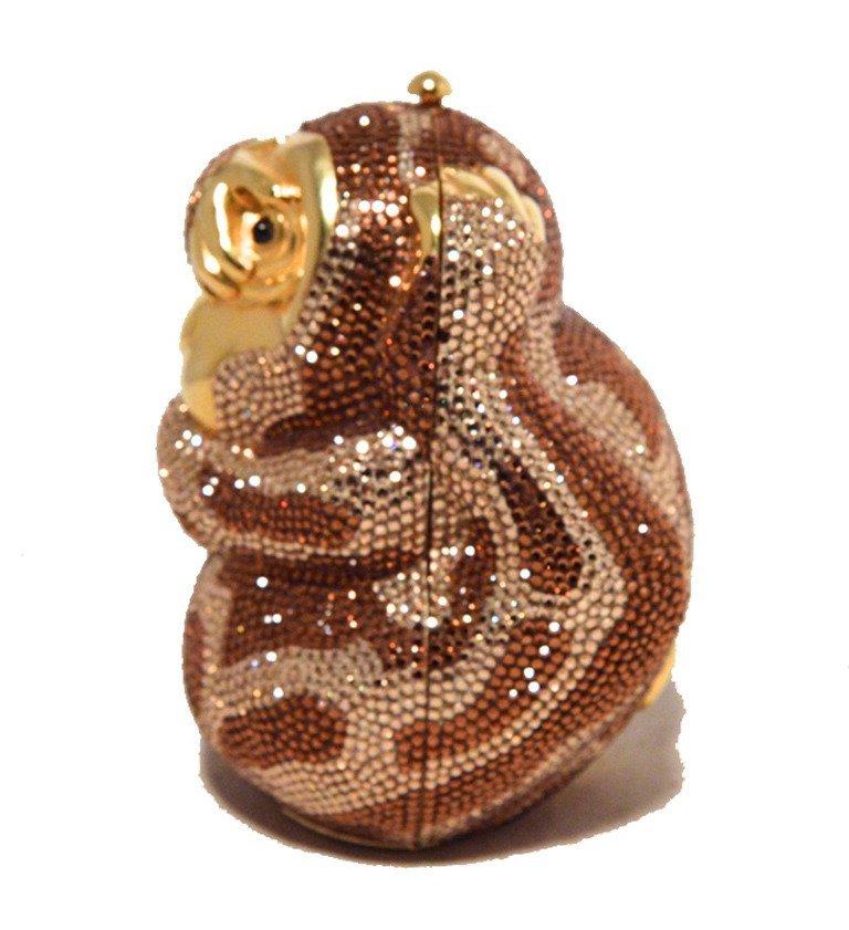 Judith Leiber Hiding Monkey Swarovksi Crystal - 2