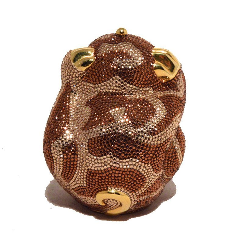 Judith Leiber Hiding Monkey Swarovksi Crystal - 3