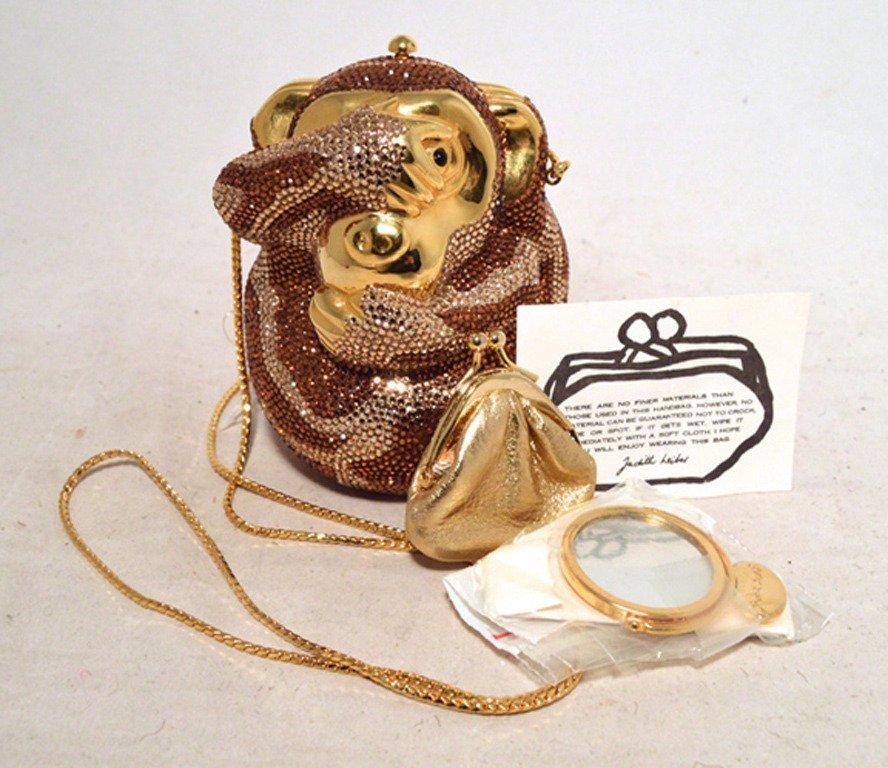 Judith Leiber Hiding Monkey Swarovksi Crystal - 7
