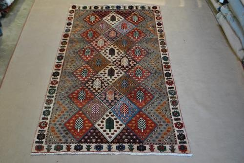 HAND WOVEN PERSIAN BAKHTIARI ANTIQUE STAINS!