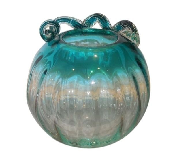 Antique Murano Italian Art Glass Rose Bowl Vase