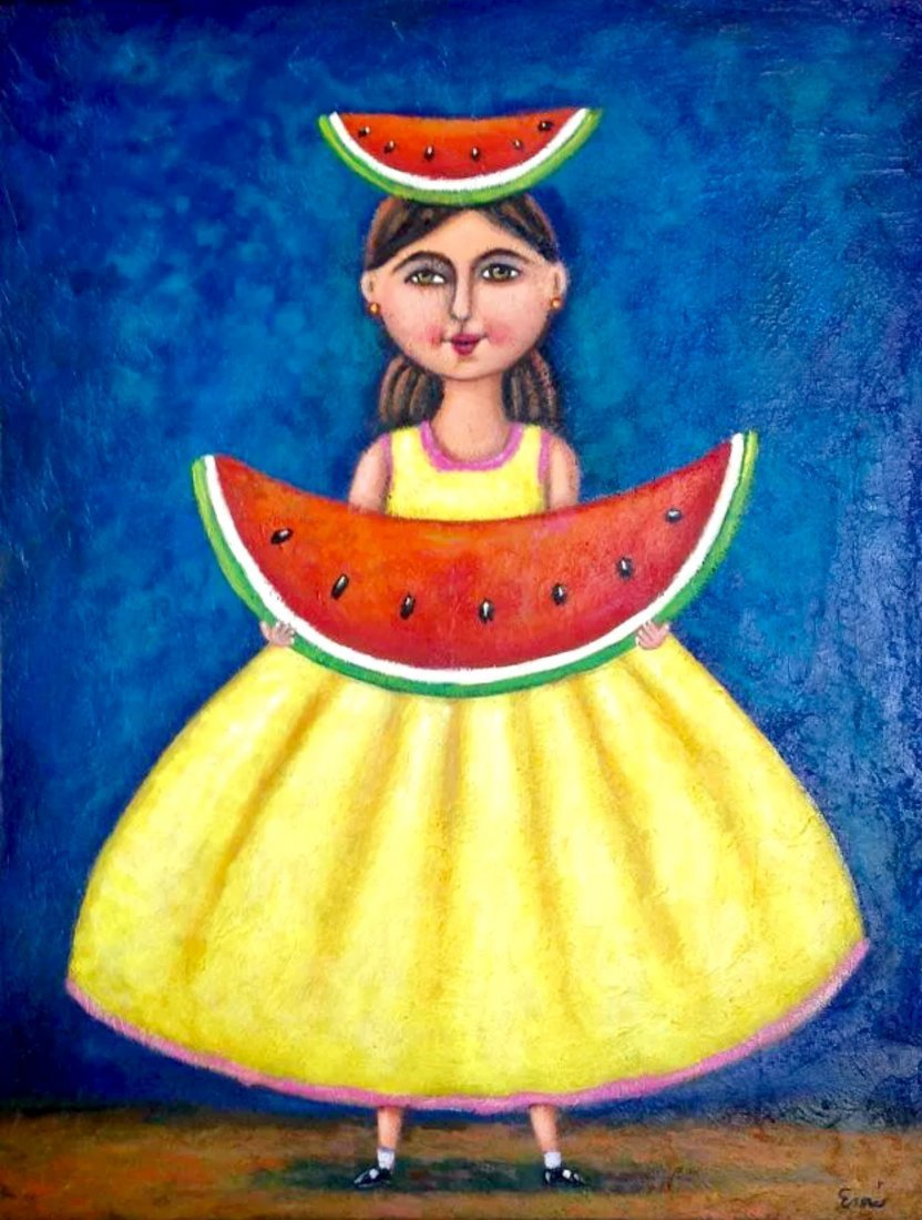 Mexican Folk Art-Watercolor on Archival paper Original
