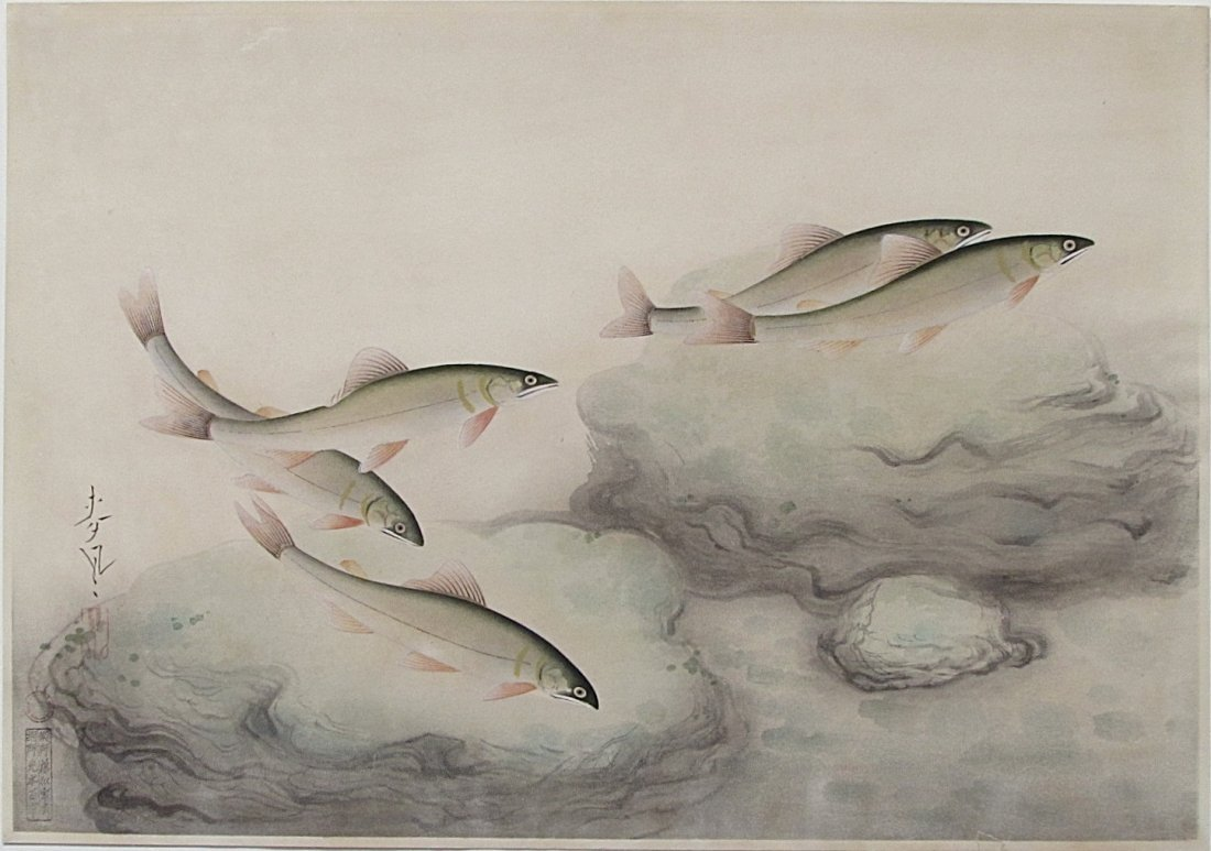 Bakaufu OHNO, Sweetfish, Dai-nippon Gyorui Gashu