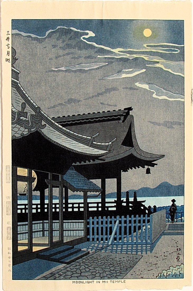 Takeji ASANO, Moonlight in Mii Temple