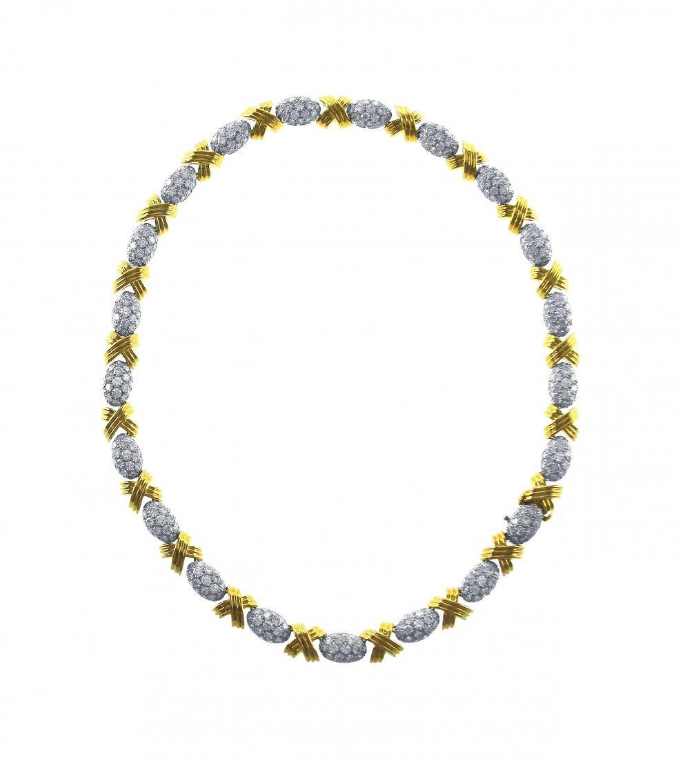 17.85 Carats Diamond Necklace by Oscar Heyman