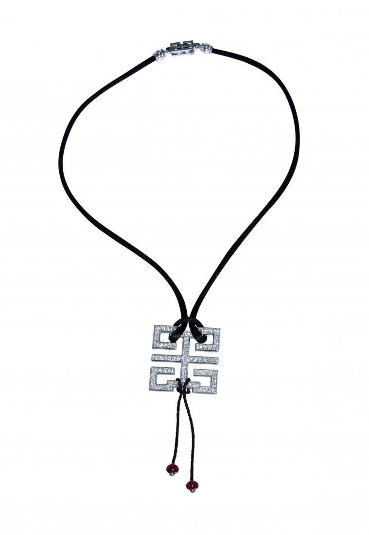18K White Gold Le Baiser du Dragon Necklace by Cartier