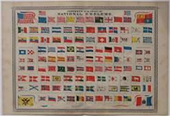 Chart of National Emblems, 1868