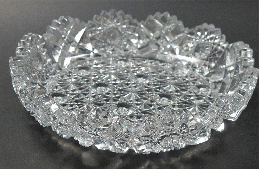 ABP American Brilliant Period hand Cut Glass Hunt Royal