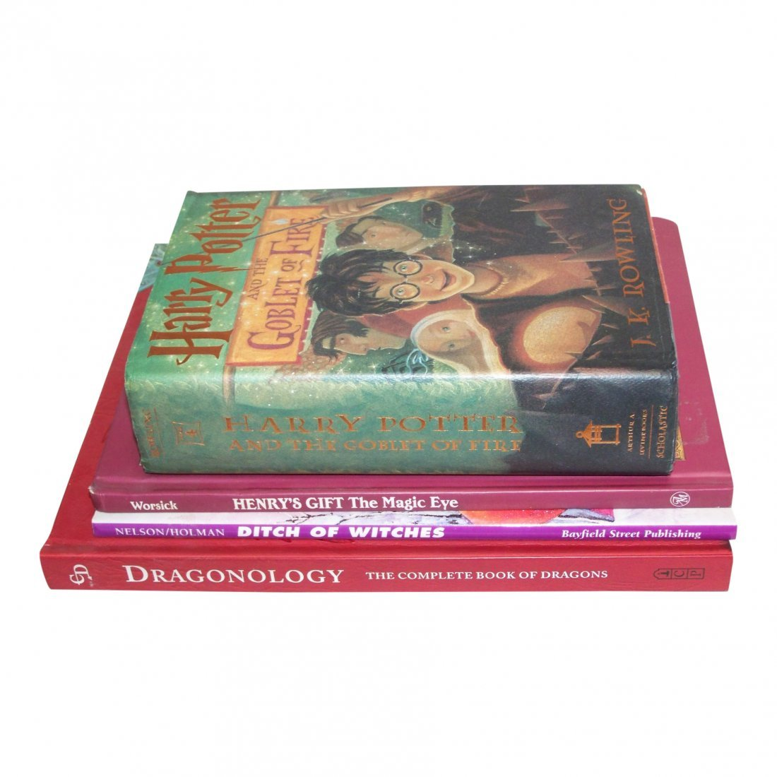 Harry Potter and Goblet of Fire & Mixed Lot of Other
