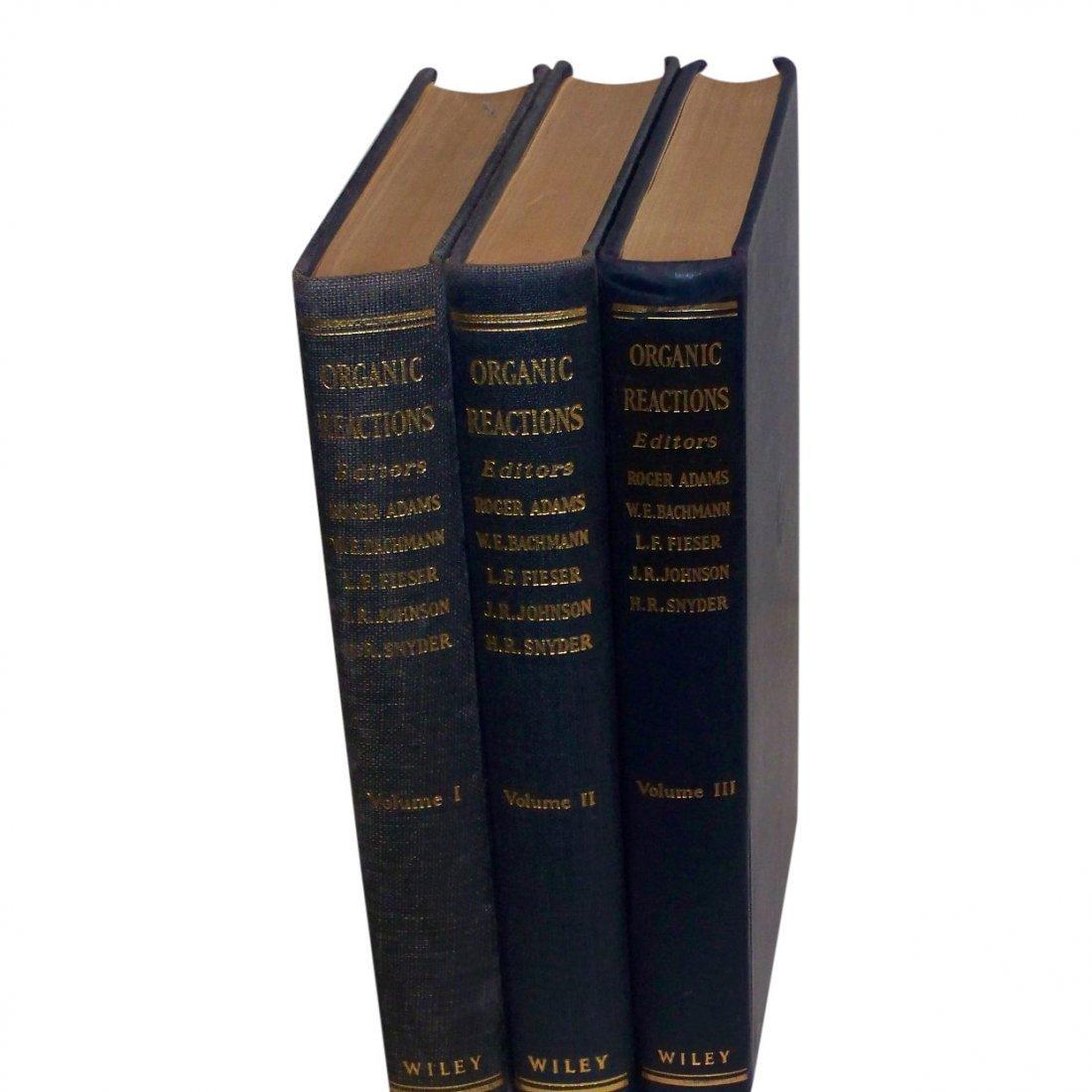 Organic Reactions 3 Volumes