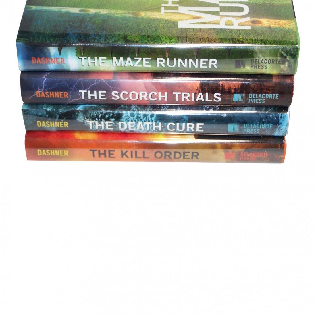 The Maze Runner, Four Volume Set