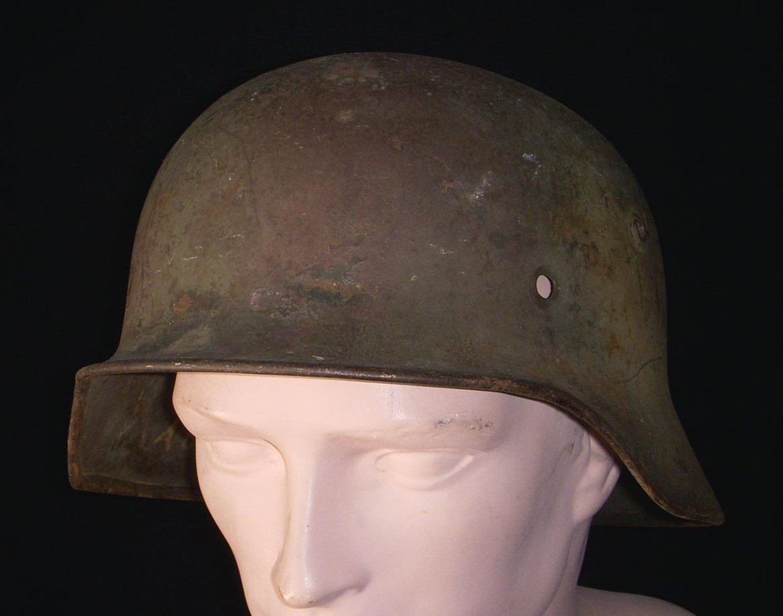 Battle of the Bulge Vet Purchase M1935 Camo Helmet