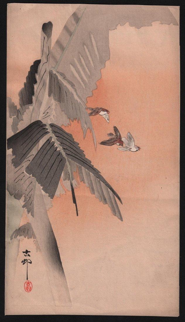 Original Japanese Woodblock print by Koson