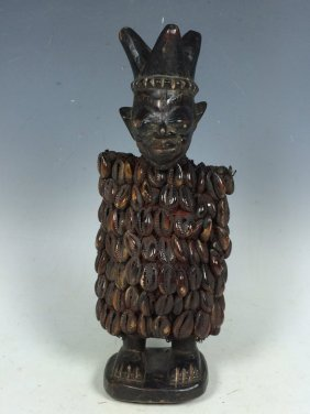 Carved Wooden Ibeji Doll