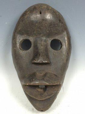 Carved Wooden Passport Dan Mask