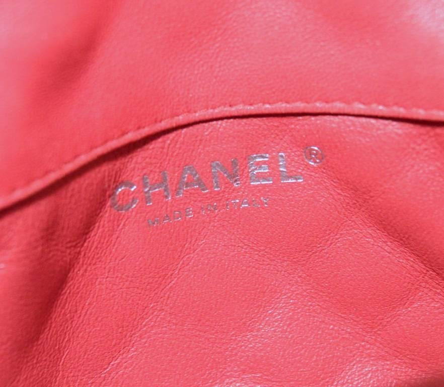 Chanel Dark Pink Quilted Classic Extra Mini Flap - 8