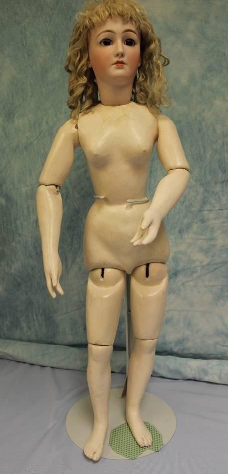 "34"" Simon & Halbig  Adult body #1199 Rare ""La - 4"