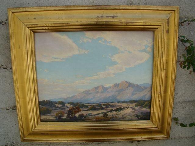 Joseph P. Frey [1892-1977] Desert Landscape P270