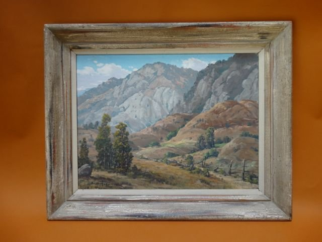 "Joseph P. Frey ""Western Landscape"" P1054"
