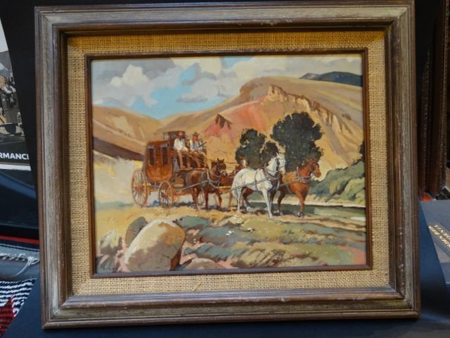 "Sheryl Bodily ""Stagecoach"" P795"