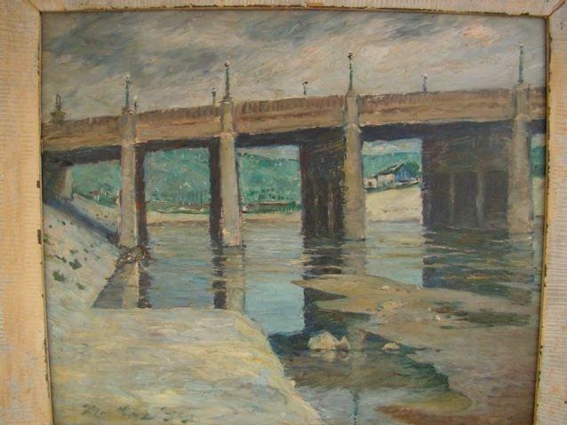 "Mentor Huebner ""Los Angeles River"" P185"