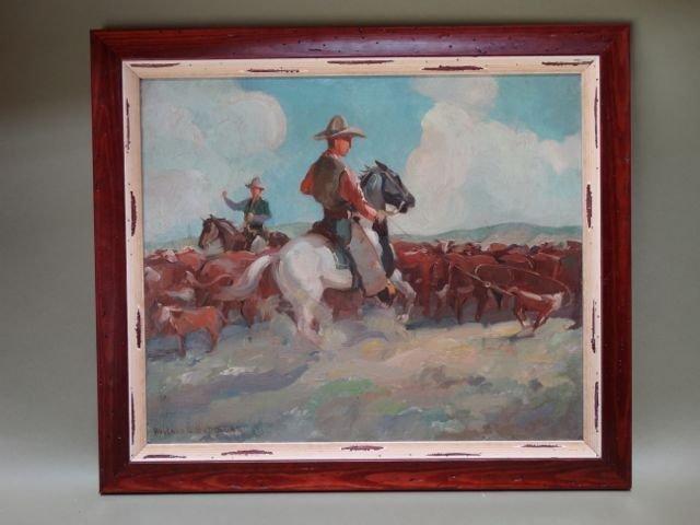 "Hoyland Bettinger (1890-1950) ""Cowboy"" P952"