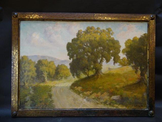 W. L. Beebe 1864-1942: Oil on Canvas, California