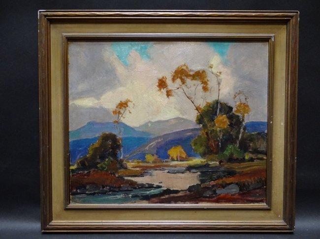 Orrin White [1883-1969]: California Landscape P465