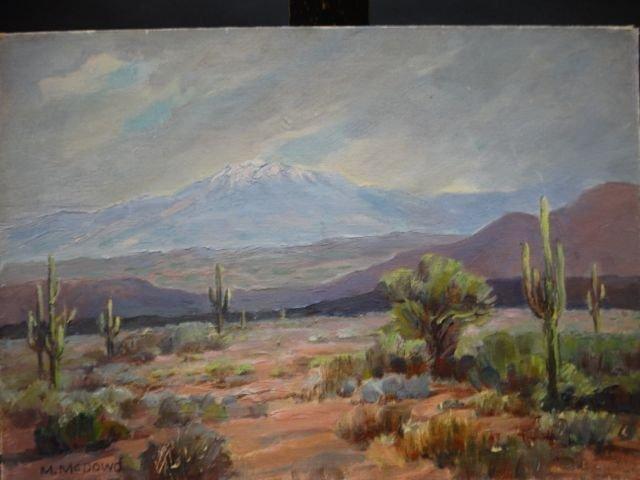 Margaret McDowd: Arizona Desert Near Phoenix P1216