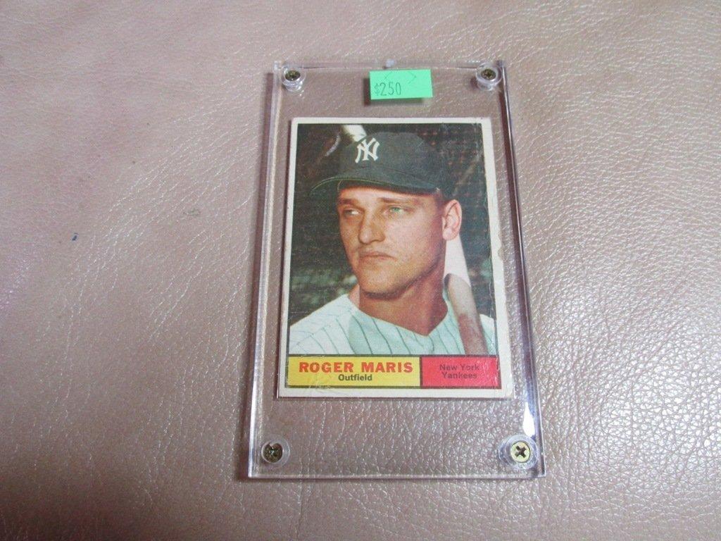 1961 Roger Maris Baseball Card