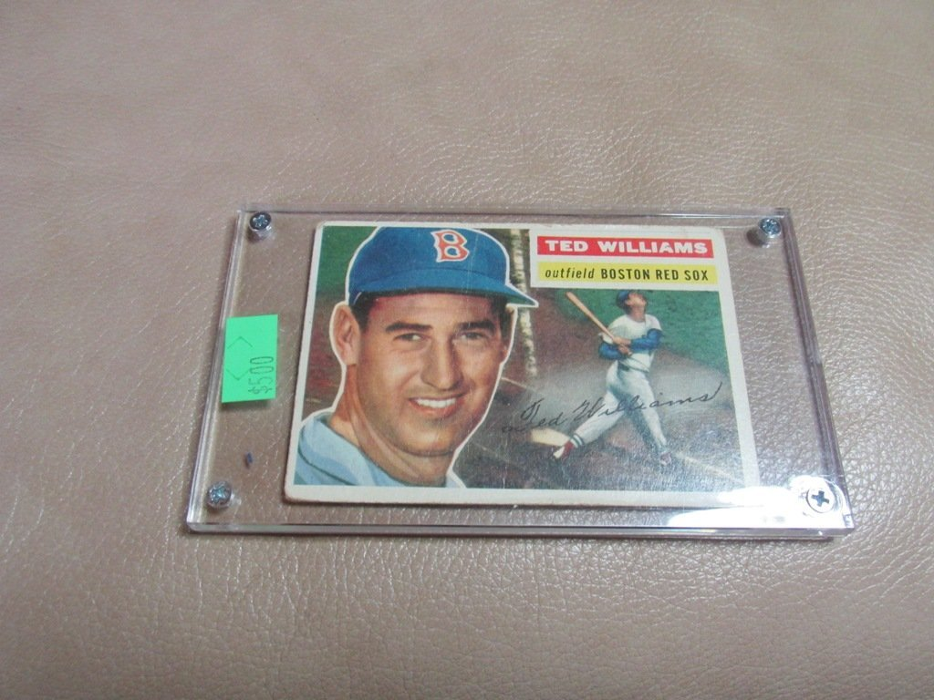 1954 Ted Williams Baseball card