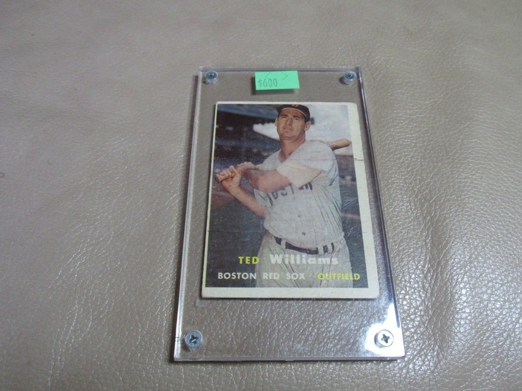 1957 Ted Williams Baseball card