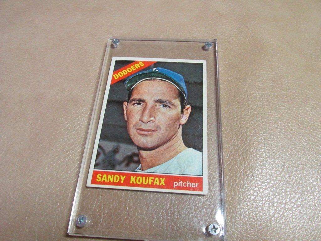 1966 Sandy Koufax Baseball card