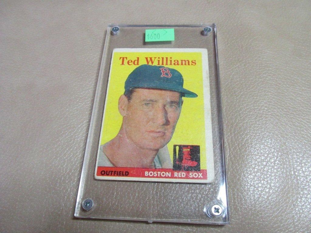1958 Ted Williams Baseball card