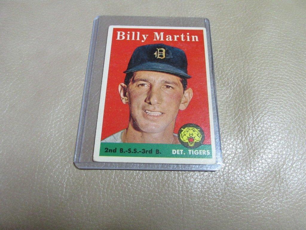 1958 Billy Martin Baseball card