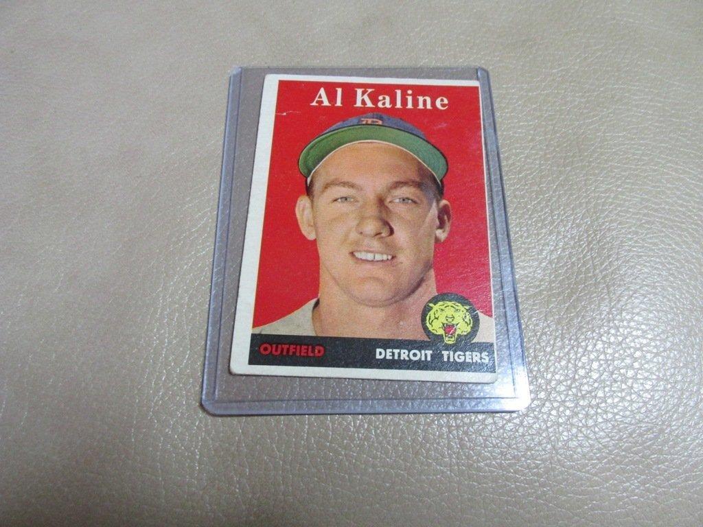 1958 Al Kline Baseball Card