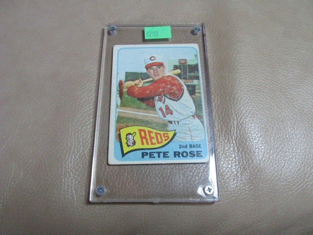 1965 Pete Rose Baseball Card