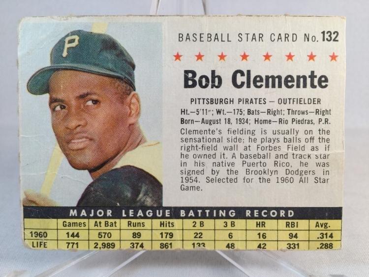 1961 Post Roberto Clemente #132