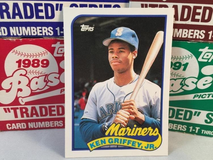 1988, 1989, 1990, 1991 Topps Traded Baseball Complete
